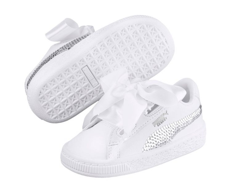 Image Puma Basket Heart Bling Ps
