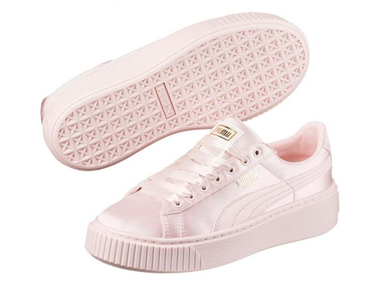 Image Puma Basket Platform Tween Ps