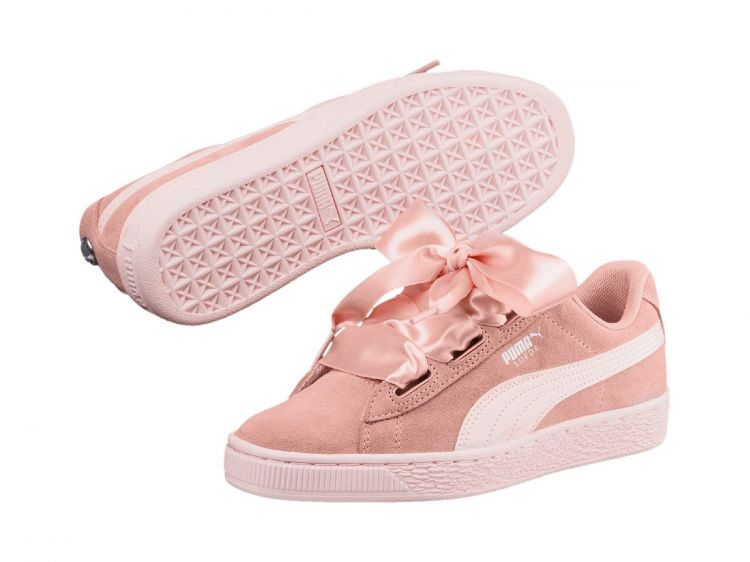 Image Puma Suede Heart Jewel Jr