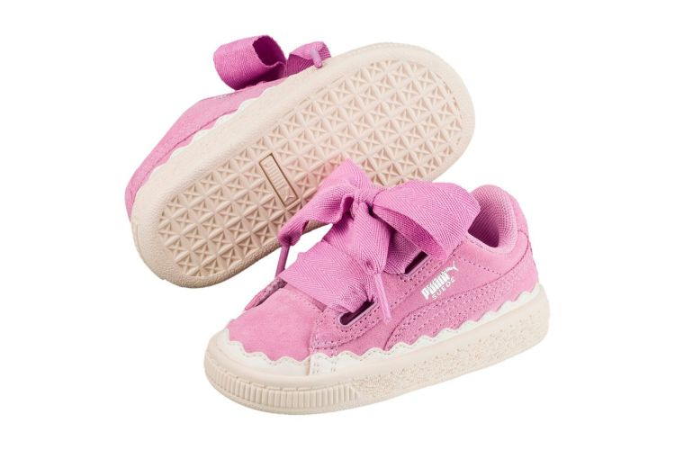 Image Puma Suede Heart Rubberized
