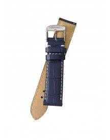 Fromanteel Horlogeband Calf Leather Blue Croco S-011 afbeelding