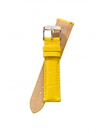 Fromanteel Horlogeband Calf Leather Yellow Croco S-007 afbeelding