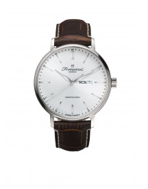 Fromanteel Herenhorloge Generations Day Date, White-dark Brown Gs-0801-009 afbeelding