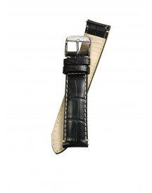 Fromanteel Horlogeband Calf Leather Black Croco S-001 afbeelding