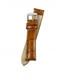 Fromanteel Horlogeband Calf Leather Cognac Croco S-003 afbeelding