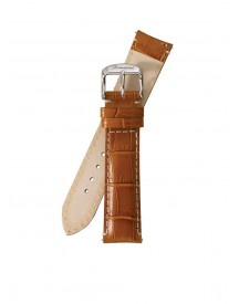 Fromanteel Horlogeband Calf Leather Light Brown Croco S-010 afbeelding