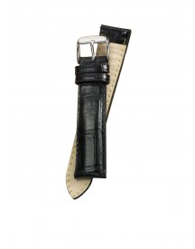 Fromanteel Horlogeband Calf Leather Black Croco S-004 afbeelding