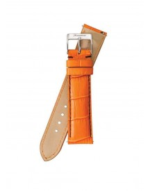 Fromanteel Horlogeband Calf Leather Orange Croco S-008 afbeelding