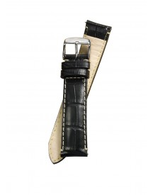 Fromanteel Horlogeband Calf Leather Black Croco S-001 Xl afbeelding