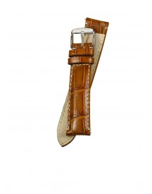 Fromanteel Horlogeband Calf Leather Cognac Croco S-003 Xl afbeelding