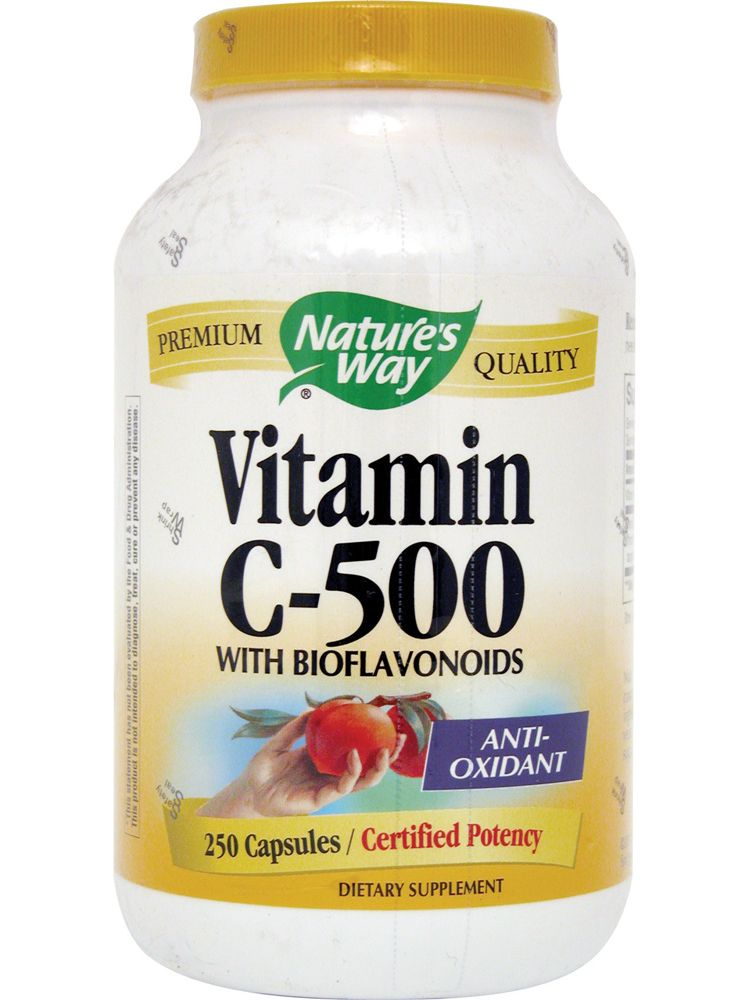 Image Vitamin C-500 With Bioflavonoids