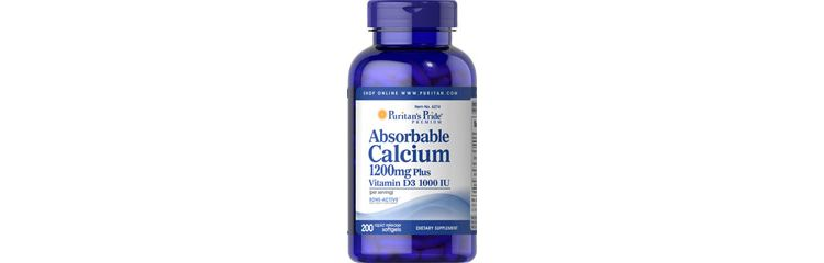 Image Absorbable Calcium 1200 Mg & Vitamin D 1000 Iu 1200 Mg