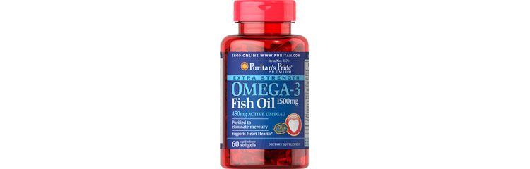 Image Extra Strength Omega-3 Fish Oil 1500 Mg (450 Mg Active Omega-3)