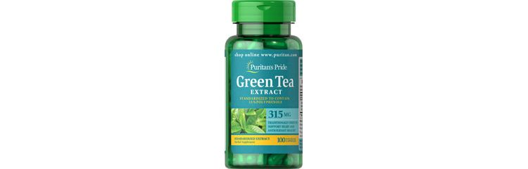 Image Green Tea Standardized Extract 315 Mg