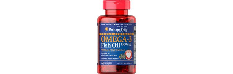Image Triple Strength Omega-3 Fish Oil 1360 Mg (950 Mg Active Omega-3)