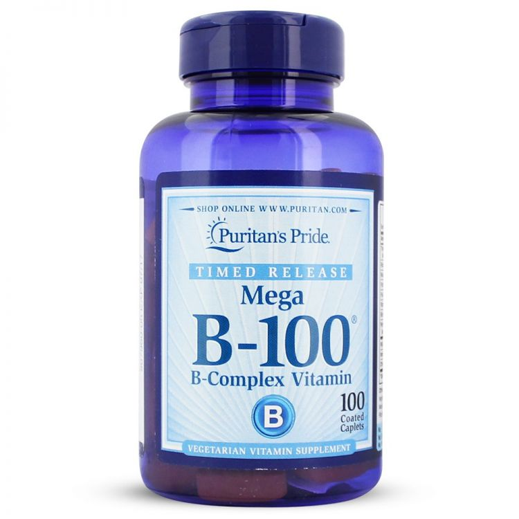 Image Vitamin B-100® Complex Timed Release 100 Mg