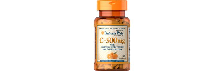 Image Vitamin C-500 Mg With Bioflavonoids & Rose Hips