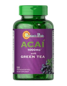 Acai 1000mg With Green Tea 500mg afbeelding