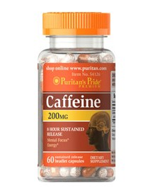 Caffeine 200 Mg 8-hour Sustained Release afbeelding