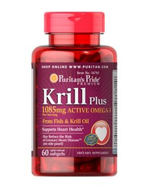 Krill Oil Plus High Omega-3 Concentrate 1085 Mg afbeelding