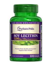 Soy Lecithin 1200 Mg afbeelding