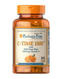 Vitamin C-1500 Mg With Rose Hips Timed Release afbeelding