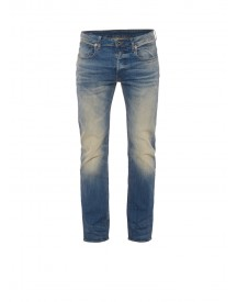 G-star Raw 3301 Cyclo Straight Fit Jeans Met Faded Look afbeelding