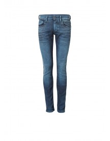 G-star Raw 3301 Decon Mid Rise Super Slim Fit Jeans Met Faded Look afbeelding