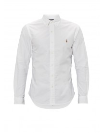 Ralph Lauren Slim Fit Overhemd In Wit afbeelding