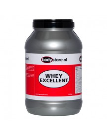 Whey Excellent - Bodystore - 2000 Gram - Naturel afbeelding