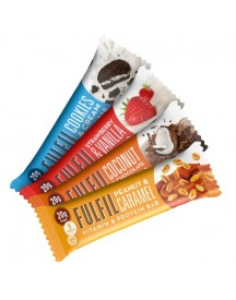 Fulfil Vitamin & Protein Bar - Doos - White Choc & Cookie Dough afbeelding