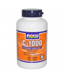 C-1000 Buffered - Now - 180 Tabletten afbeelding