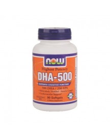 Dha-500 - Now - 90 Softgels afbeelding