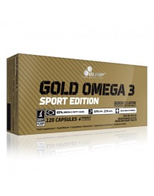 Gold Omega 3 Sport Edition - 120 Capsules - Olimp afbeelding