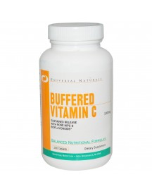 Vitamin C Buffered (1000 Mg) - Universal - 100 Tabletten afbeelding