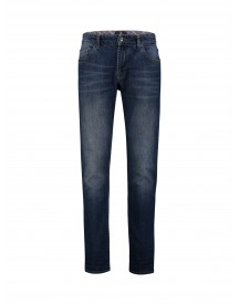 Heren Jeans Bighorn Mcmarlow Stretch Straight Fit Indigo afbeelding