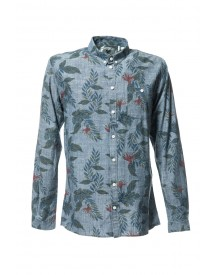 Minimum Shirt Reggie Med Blue afbeelding