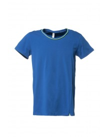 Pure White T-shirt 14010128 British Blue afbeelding