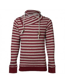 8mm. Striped Shawl Sweat Truien afbeelding