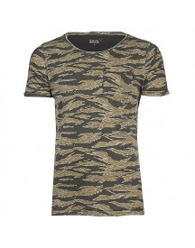 8mm. Tee S/s Par Allover Tiger Camo T-shirts afbeelding