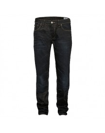 G-star Raw 3301 Low Tapered Lexicon Indigo Aged Jeans afbeelding