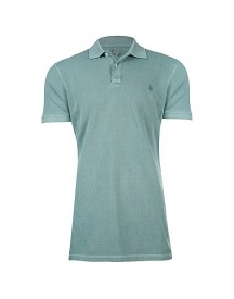 J.c.rags Oak- Pigment Printed Garment Dyed Polo T-shirts afbeelding
