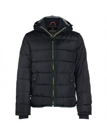 Scotch&soda Quilted Nylon Jacket With Oxford Nylon Hood Jassen afbeelding