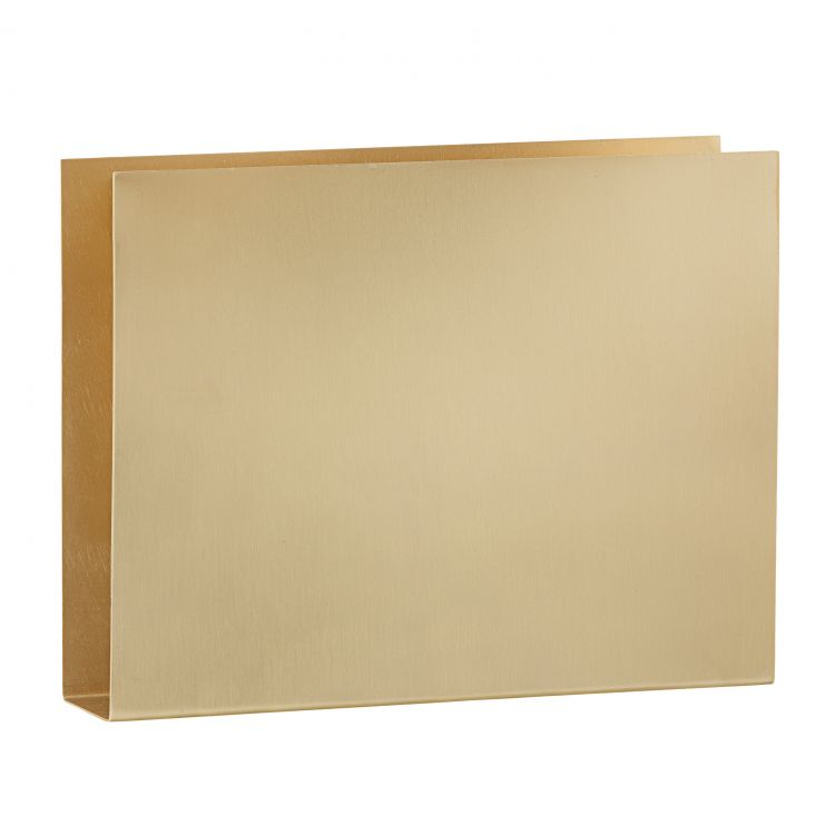 Image Ferm Living Brass Wall Square Opberger