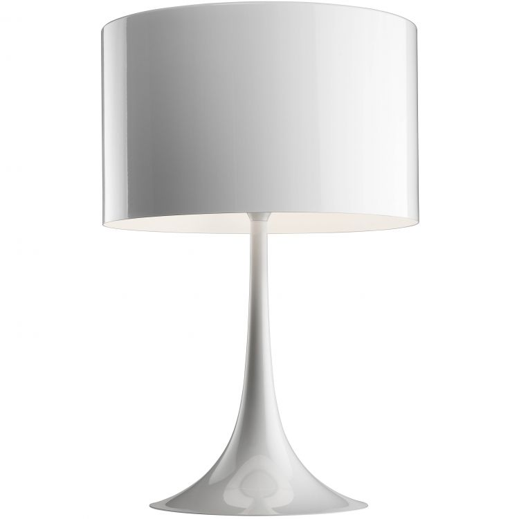 Image Flos Spun Light T2 Tafellamp Eco Wit Glans
