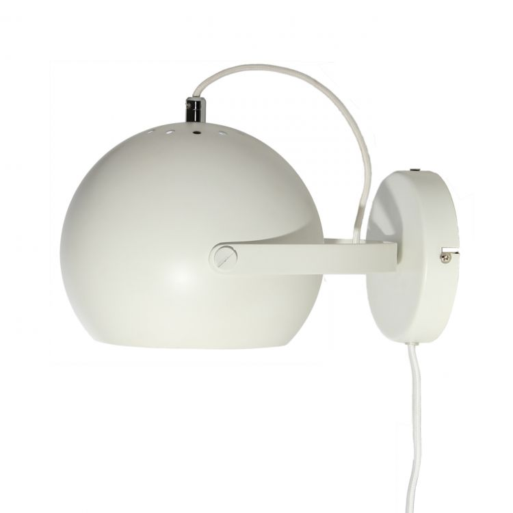 Image Frandsen Ball Handle Wandlamp Wit
