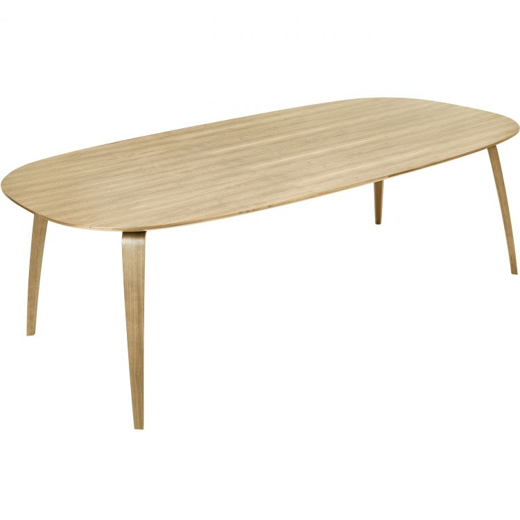 Image Gubi Gubi Dining Table Eettafel Ellips Eiken 230x120