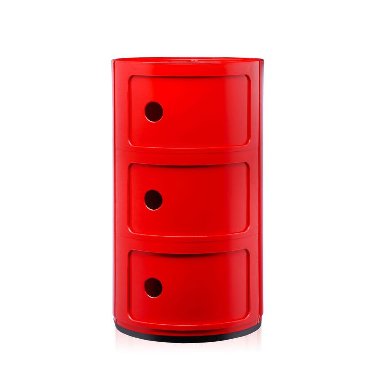 Image Kartell Componibili Large (3 Comp.) Rood