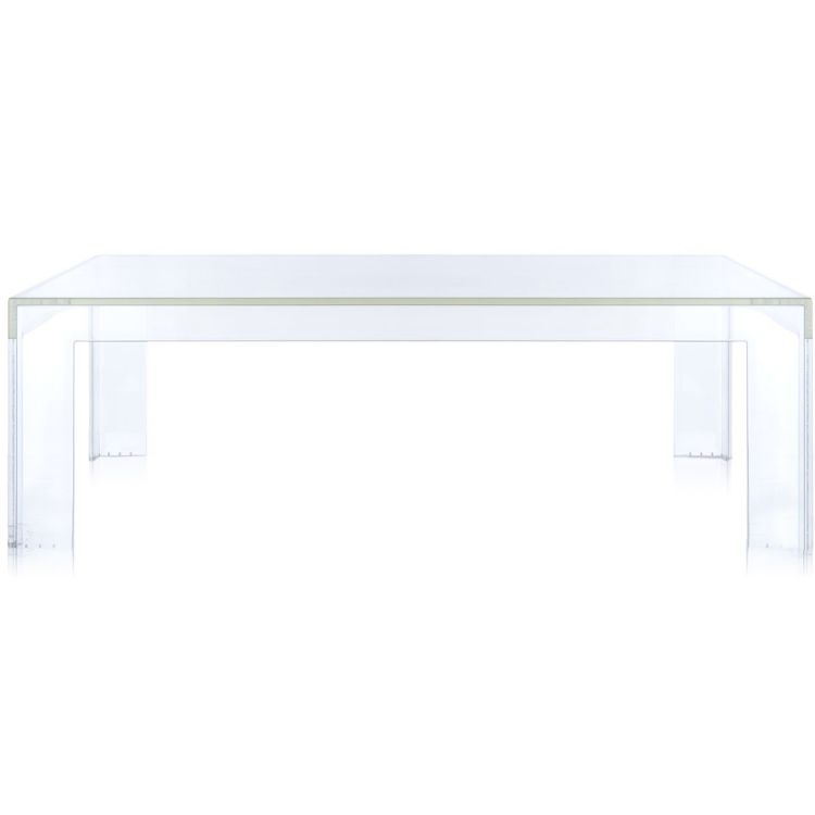 Image Kartell Invisible Low Table Tafel Transparant