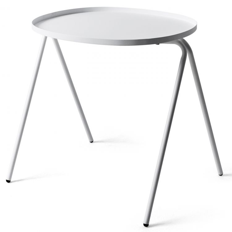 Image Menu Afteroom Side Table Bijzettafel Wit 50x45